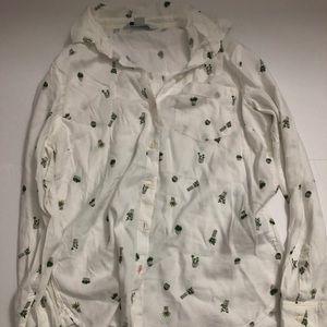 Leaf Button Down Shirt